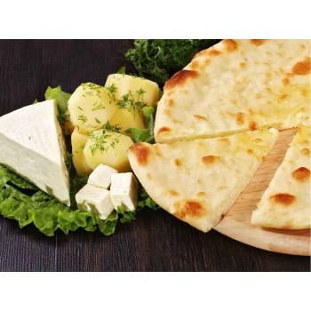 """Осетинский пирог с картофелем и сыром """"картофджин"""""""