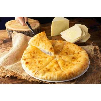 """Осетинский пирог с сыром """"уалибах"""""""