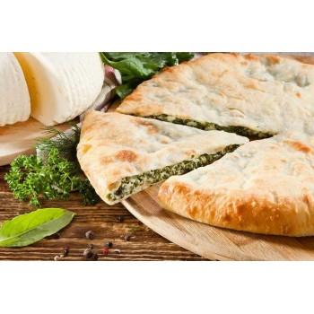 Пирог с сыром и укропом
