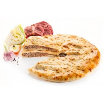 Пирог с мясом и капустой